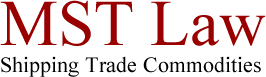 MST Law - Shipping Trade Commodities
